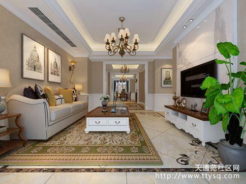 新装修简美风格三房,客厅漂亮极了,餐厅柜子这么装太实用!