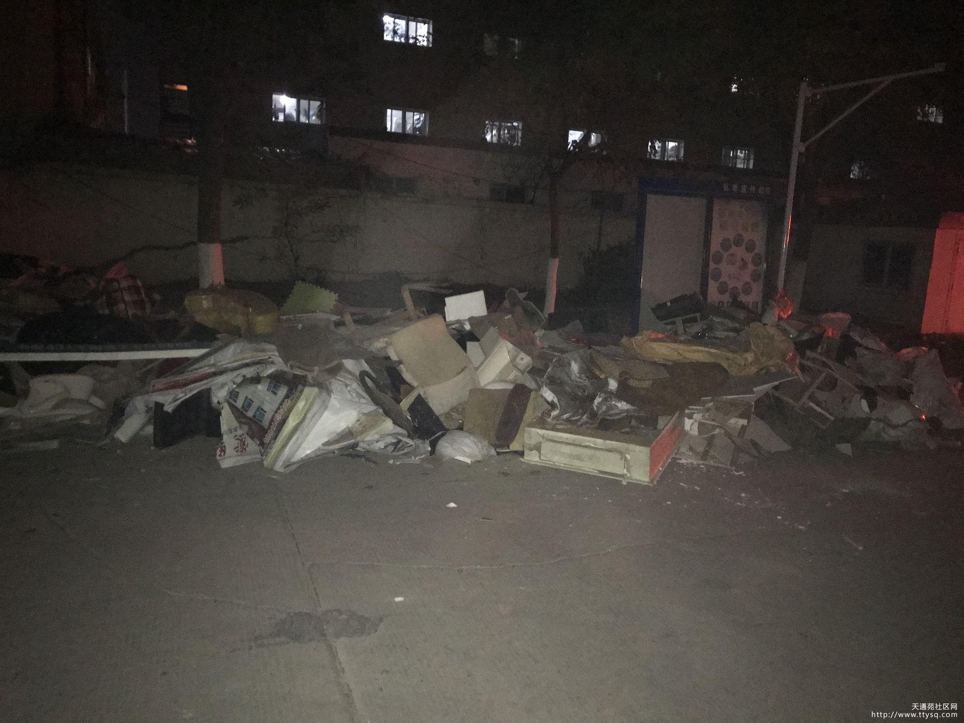 四区垃圾堆 持续曝光