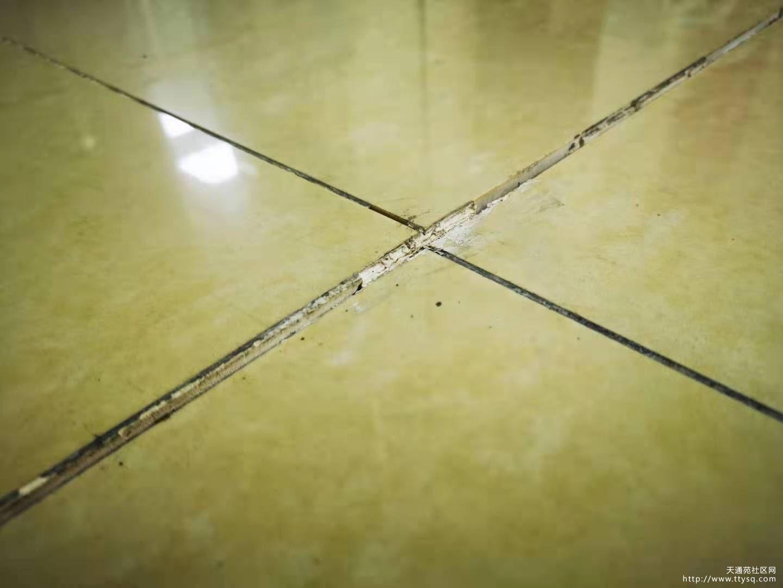 求助 地面的瓷砖翘开了 怎么修
